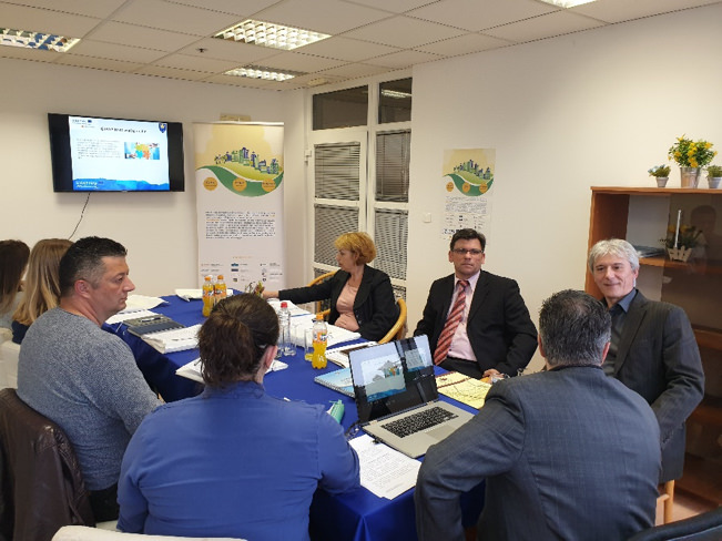 2nd CAPITALISATION WORKSHOP FOR PUBLIC INSTITUTIONS HELD IN ZENICA IN ORGANISATION OF DEPARTMENT FOR DEVELOPMENT AND INTERNATIONAL PROJECTS OF ZENICA-DOBOJ CANTON (BiH)