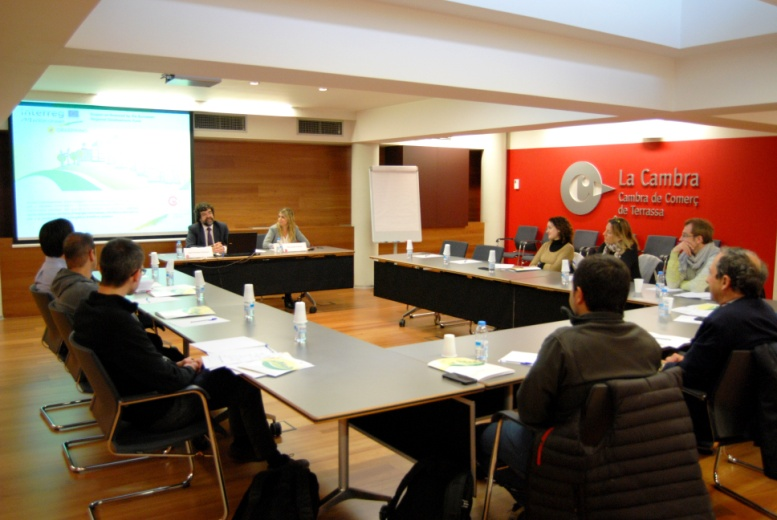 TRAINING COURSE at Chamber of Commerce and Industria of Terrassa